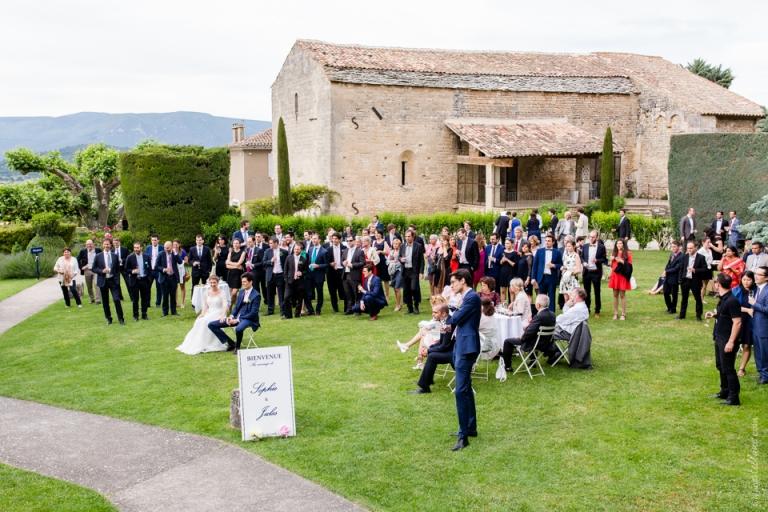 Mariage l 39 abbaye de sainte eus be dans le luberon - Le parfum des collines ...