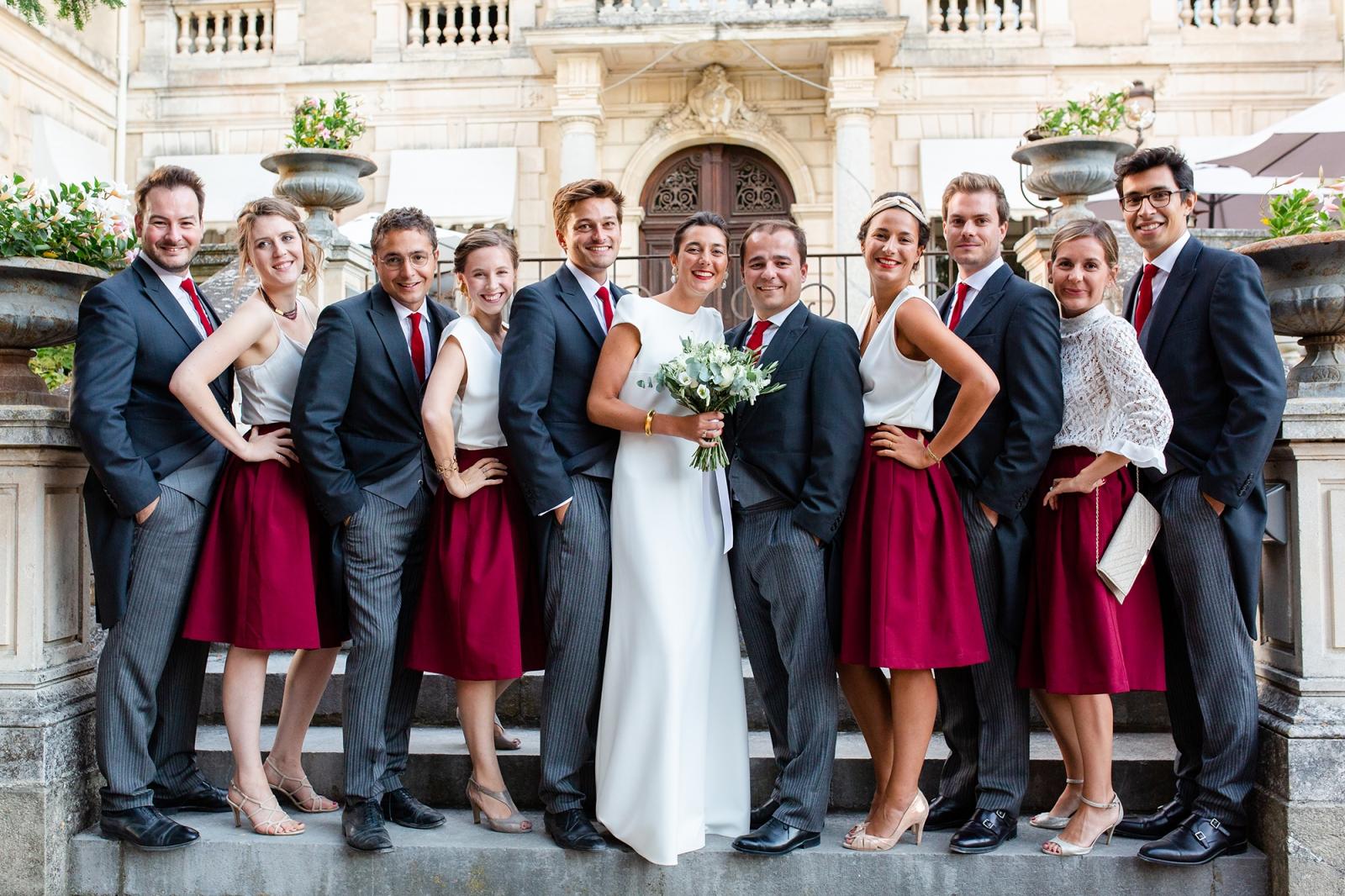 Mariage au Chateau des trois fontaines, Pernes les fontaines