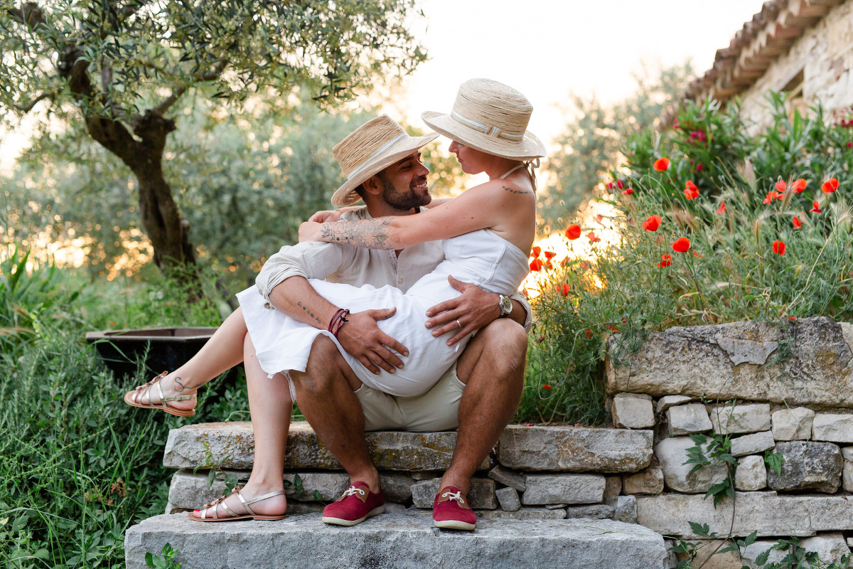 photographe couple isle-sur-la-sorgue, luberon
