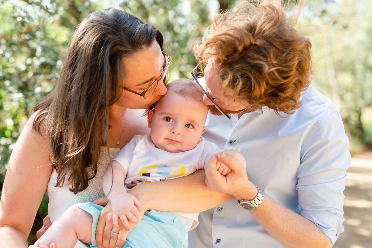 séance photo de famille dans le Luberon